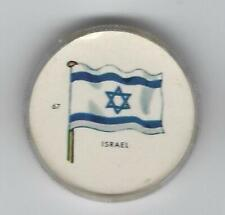1963 General Mills Flags of the World Premium Coins #67 Israel