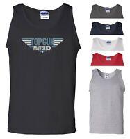 Top Gun Maverick Vest Tom Cruise Movie Air Force Fans Birthday Gift Men Tank Top