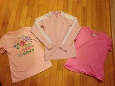 CHAMPION GIRLS T-SHIRTS Lot Of 3 PINK ATHLETIC SIZE LARGE