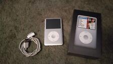 Apple iPod Classic Silver 80GB 6th generazione 2007 Lettore MP3 ORIGINALE COMPLETA