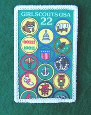 GIRL SCOUT NATIONAL PATCH