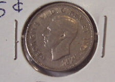 CANADAIN FIVE CENT NICKEL 1941 BEAVER REVERSE COIN
