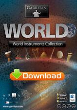 GARRITAN WORLD INSTRUMENTS - MUSIC SOFTWARE - DIGITAL - NEW - WIN/MAC