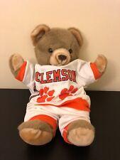 clemson paw power teddy bear