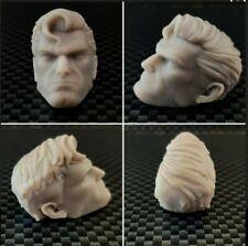 1/12 Scale Custom Superman Head Sculpt -  Kingdom Come Mezco Marvel Legends DC