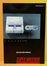 Super Nintendo System Console SNES Instruction MANUAL ONLY  No Game !!