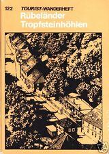 Wanderheft, Rübeländer Tropfsteinhöhlen, 1977