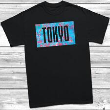 Tokyo T-Shirt Fashion Slogan Tee Top Summer Vibes