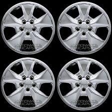 """4 CHROME 2011-2015 Ford Explorer 17"""" Wheel Covers Rim Hub Caps 5 Spoke Full Hubs"""