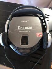 Sony Discman D-151 Compact CD Player Digital Mega Bass Tested Diskman Walkman