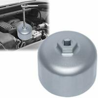 86mm Cartridge Style Oil Filter Wrench Cap Housing Tool for BMW Volvo (Silver)