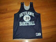 060ed8fc4fa7 Vintage Skyhawk LC Bird Virginia High School Champion Basketball Jersey USA  L