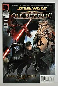 Star Wars The OLD REPUBLIC #4 Part 1 of 3 Signed by Michael Atiyeh COA