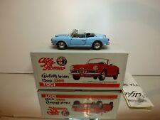 TOGI 9527 ALFA ROMEO GIULIETTA 1300 SPIDER 1955 - BLUE 1:23 - EXCELLENT IN BOX