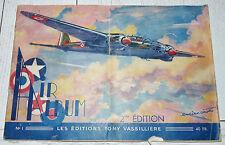 AIR ALBUM 1944 AVIATION DORNIER JUNKER MORANE LATECOERE BRISTOL AMIOT SIKORSKY