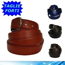 Cintura da Uomo in Pelle Cinta Taglie Forti Calibrata Oversize Lunga 150 160 170