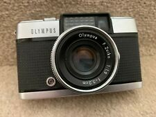 1960's OLYMPUS PEN-D 35mm Half-frame camera with original box