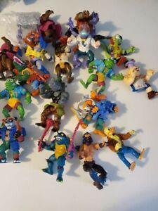 19 Teenage Mutant Ninja Turtles Toy Lot Figures Playmates Bundle TMNT