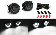 Clear LED Fog Lights with LED Daytime Running Lights for Peugeot 206 207 CC