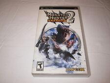 Monster Hunter Freedom 2 (Playstation PSP) Original Release Complete Excellent!