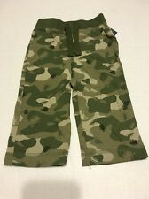 Old Navy Boys Pants Sz 18-24 Months Camo Green