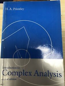 Introduction To Complex Analysis (second Edition) by H. A. Priestly