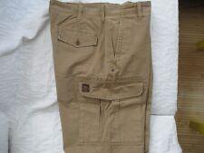 timberland pantalon style cargo treillis sable taille 42 men's pant w 34 / L 30