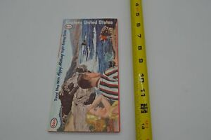 Eastern United States US - Esso - Travel Map with Sight-Seeing Guide - 1963