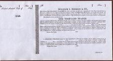 Captain Kidd Treasure - Rare scam 1846 pirate gold  Stock Certificate