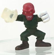 Marvel Super Hero Squad RED SKULL Clear Cube & White Gloves Version     a