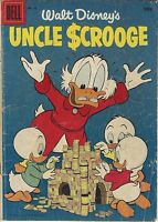 Walt Disney's Uncle Scrooge #13 Donald Duck Silver Age Dell