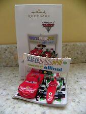 Hallmark 2011 International Race Rivals Disney Pixar CARS Christmas Ornament