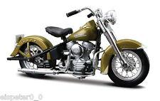 Harley Davidson Modell, 1953 74FL Hydra Glide (29), Maisto Motorrad Modell 1:18