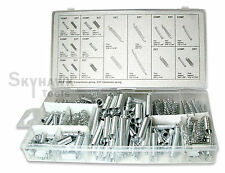200-pc. Auto SPRING Assortment Set Compressed & Extended Carburetor Flat Hoop