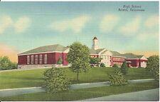 High School Bristol TN Postcard