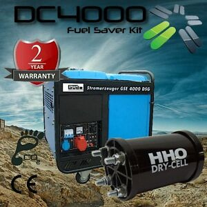 HHO Kit DC4000C Engines 4.2-5.5L for boats generators tractors off road vehicles