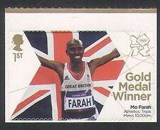 GB 2012 Olimpiadas/Deportes/ganador de la medalla de oro/Mo Farah/atletismo 1v S/a (n35454)