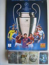 PANINI UEFA  Champions league 2011 / 2012 complete sticker collection album