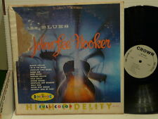 JOHN LEE HOOKER The blues Boogie chillen ... CROWN CLP 5157