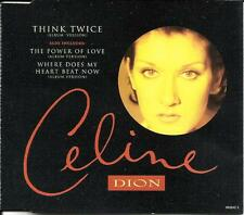 CELINE DION Think Twice RARE 3 TRX Austria CD Single SEALED #660642 Limited