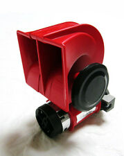 Nautilus SUPER LOAD 12v Red Twin Auto Machine Air Horn 139dB Universal 12 volt