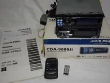 ALPINE CDA-9886Ji (CD player) MDA-5065MS (MD player)
