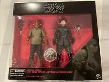 Star Wars Black Series Admiral Ackbar and First Order Officer 2-Pack
