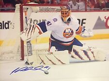 JAROSLAV HALAK SIGNED NEW YORK ISLANDERS 11X14 PHOTO AUTO