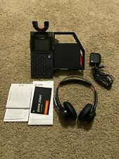 Poly Elara 60 WS Mobile Phone Station and Plantronics Headset Voyager Focus