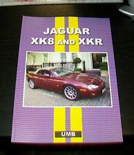 JAGUAR XK8 AND XKR ROAD TEST REPRINT BOOK. UMB PRESS