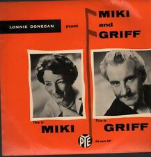 """Lonnie Donegan(7"""" Vinyl P/S)Miki And Griff-NEP 24116-65-VG/VG"""