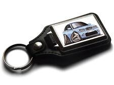 Koolart Cartoon Car Austin Rover 75 Leather and Chrome Keyring