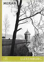 Merian Luxemburg Juli 1964/ Heft 7/ 17. Jahrgang Burgen Evangelienbuch Festung
