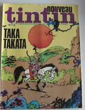 JOURNAL TINTIN N°122 TAKA TAKATA BON ETAT 1978